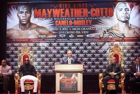 Mayweather vs Cotto: Latest News, Media and Updates on Epic Superfight