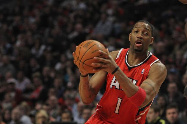 Tracy McGrady Shows Us He Lives, Can Still Dunk (and Then Hurts Ankle)