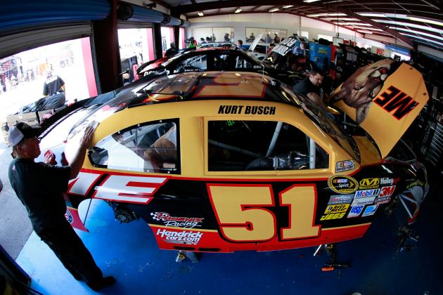 Talladega: Can History Repeat with Ricky Bobby's 'ME' Car and Kurt Busch?
