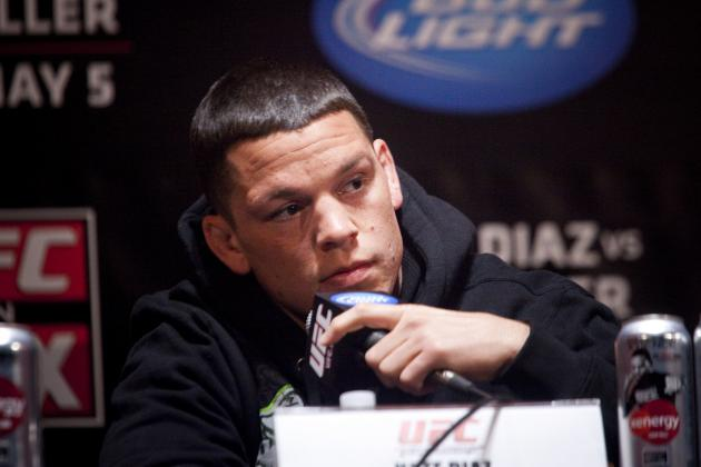 UFC on FOX 3 Reality Check: Nate Diaz Is Good, but He's Not Beating Jim Miller