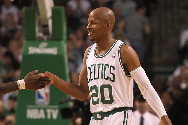 Boston Celtics' Only Prayer for Playoff Salvation Is Ray Allen's Healthy Ankle