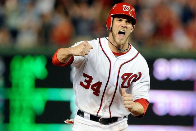 Washington Nationals, Bryce Harper Rally in 8th, Win in 11th