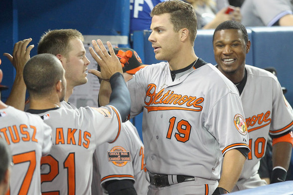 Orioles Chris Davis Overcomes Heckler, Drives in Winning Run Versus Red Sox