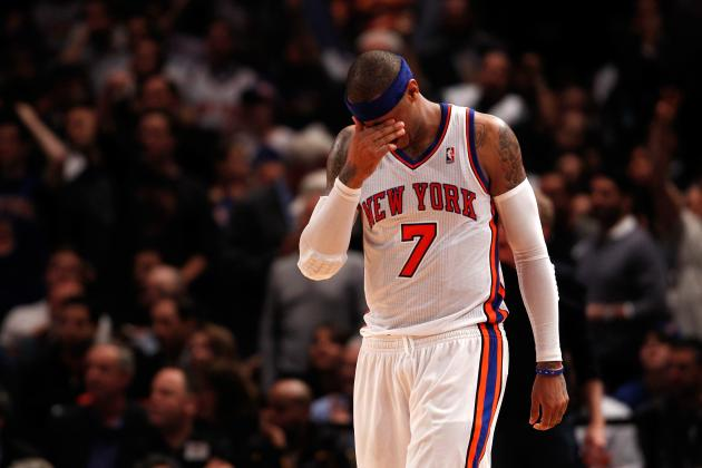 Carmelo Anthony Getting Too Much Blame for New York Knicks' Playoff Struggles