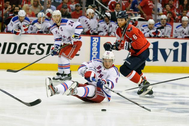 NHL Playoffs 2012: Rangers vs. Capitals Highlights and Analysis from Game 4
