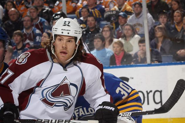 Avalanche's Steve Downie Had Shoulder Surgery
