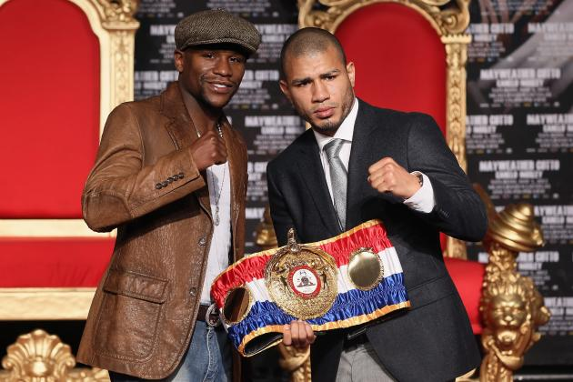 Mayweather vs. Cotto: Fight Time, PPV Listings and More