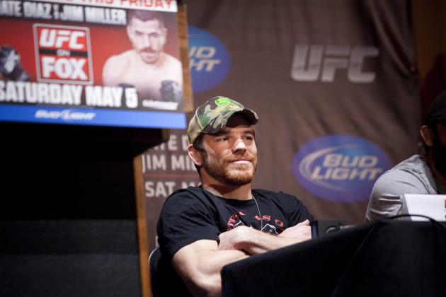 UFC on Fox 3: Jim Miller Will Nip Nate Diaz in Thriller