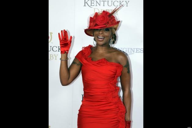 Mary J Blige Kicks Off 2012 Kentucky Derby with Flawless Anthem Execution
