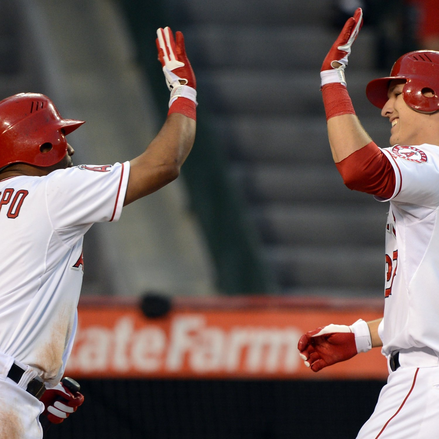 Mike Trout: LA Angels Top Prospect Hits First Home Run Of