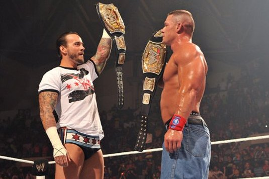 WWE: John Cena Puts CM Punk in Position to Be the Man