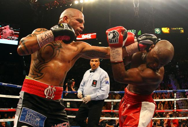 Cotto posed a real challenge to Mayweather.
