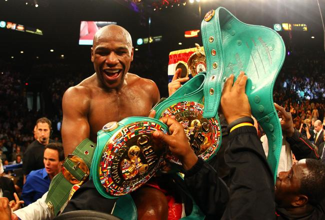 Mayweather prevailed over Cotto in an very entertaining fight.