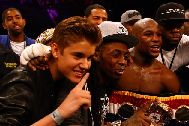 Mayweather vs. Cotto: Boxing Champion Floyd Mayweather Makes Brutal Art