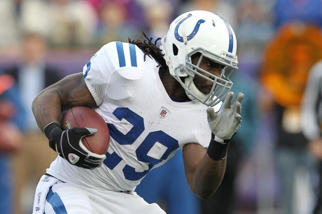New England Patriots Sign Former Colts Running Back Joseph Addai