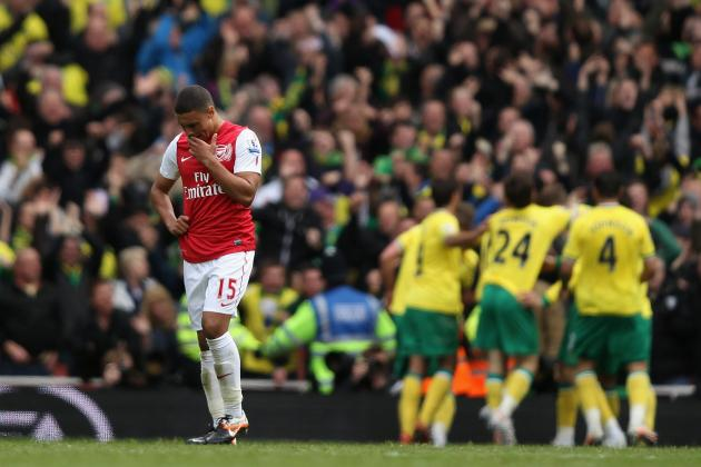 Arsenal Lose Their Grip on Third Place by Drawing 3-3 with Norwich City