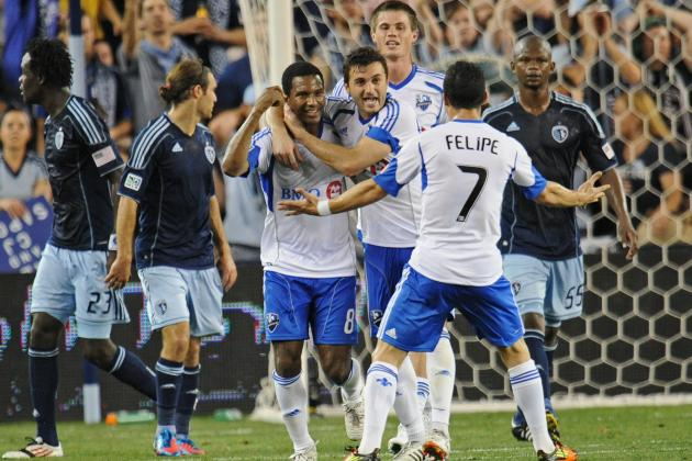 Sporting Kansas City Drops 2nd Straight, Loses to Montreal 2-0