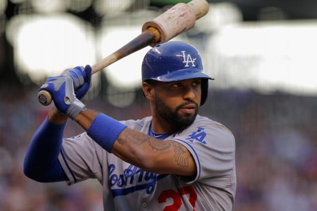 Los Angeles Dodgers Scratch Matt Kemp from Sunday's Lineup with Injury