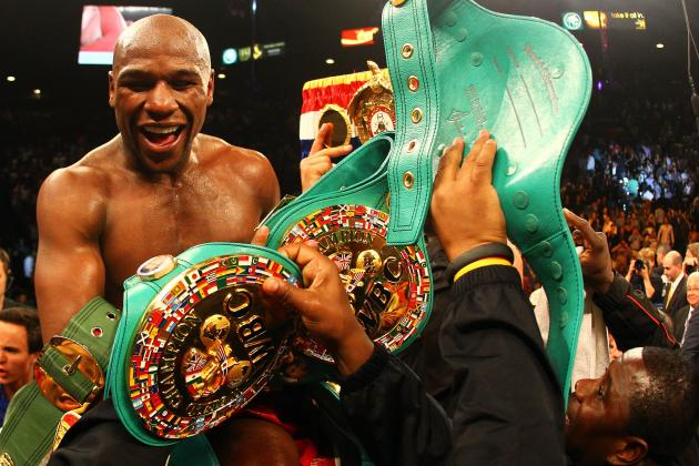Floyd Mayweather Celebrates Cinco De Mayo with a Win over Miguel Cotto