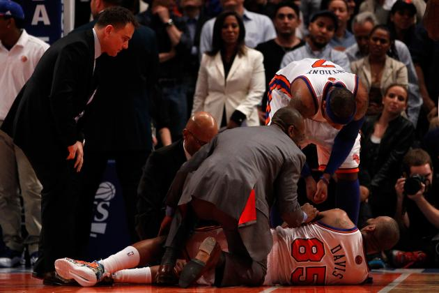 Baron Davis Injury: Updates on New York Knicks Point Guard