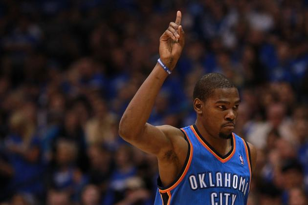 NBA Playoffs Bracket 2012: Thunder Face Better Odds vs. Lakers