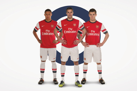 Arsenal Reveal New Home Kit for 2012-13 Season