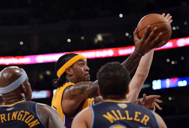Jordan Hill has a double-double in his sights tonight.