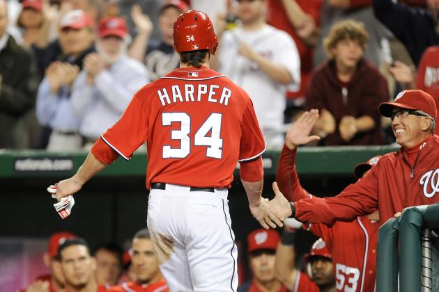 Bryce Harper: Cole Hamels Admits to Plunking Nationals Rookie on Purpose
