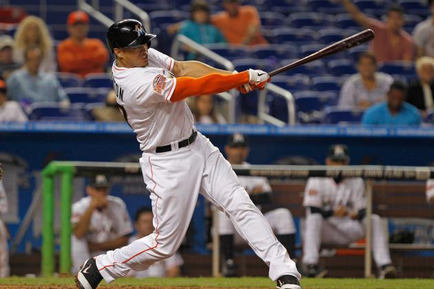 Miami Marlins: Giancarlo Stanton Finding His Groove at the Plate