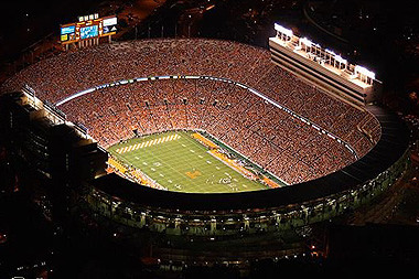 Tennessee Volunteers Football: The Timeless Mystique of Neyland Stadium