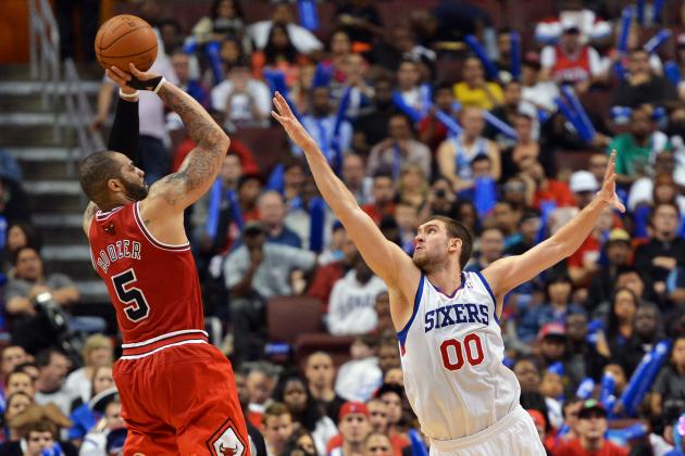 2012 NBA Playoffs: Sixers Need Steady Play from Hawes, Allen to Win Series