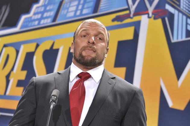WWE Rumors: Triple H, Brock Lesnar, CM Punk and Monday's Top WWE News