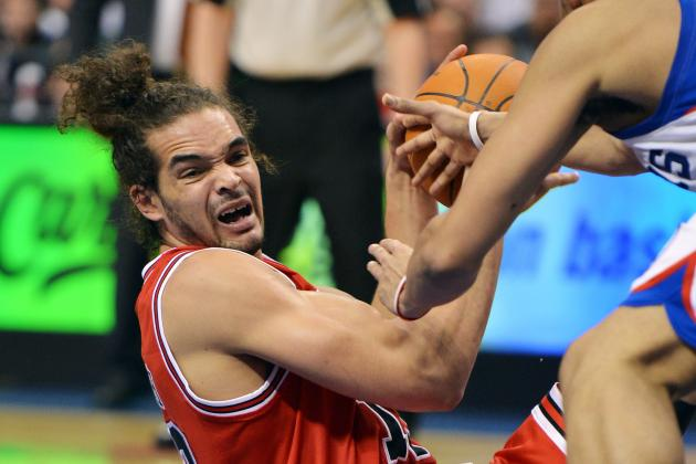 Chicago Bulls' Joakim Noah Will Reportedly Miss Game 5 vs. Philadelphia 76ers