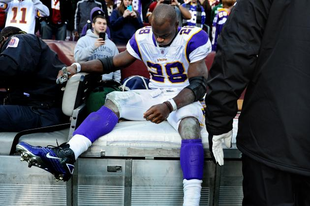 Minnesota Vikings: Adrian Peterson, Get Better Soon