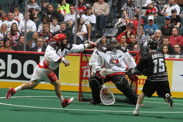 Edmonton Rush Rout Calgary Roughnecks in First Round of NLL Playoffs