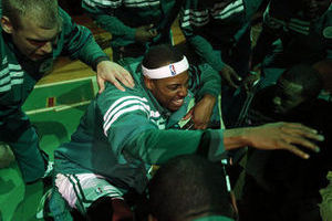 NBA Playoffs 2012: Celtics Embarrass Hawks in Game 4 to Take a 3-1 Series Lead