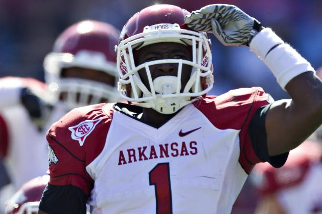 College Football 2012 Top 150 Players: No. 125 Marquel Wade, Arkansas WR