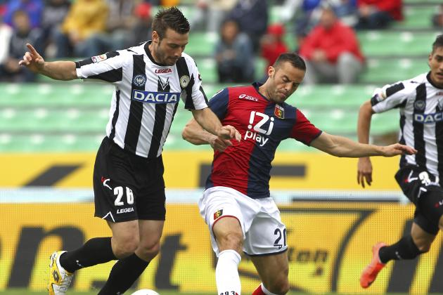 Udinese Closes in on Champions League Spot After 2-0 Win Against Genoa