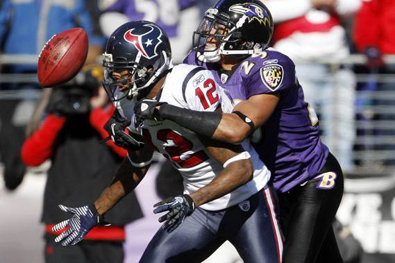 Baltimore Ravens: Could Former Texans Wide Receiver Jacoby Jones Be an Option?