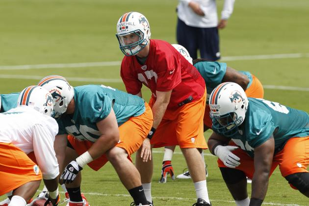 Ryan Tannehill Looks, Acts Like a Starter at Miami Dolphins Rookie Minicamp