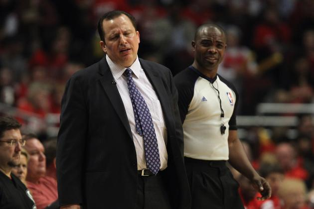 Chicago Bulls: Coach Tom Thibodeau May Not Be the Man for the Job