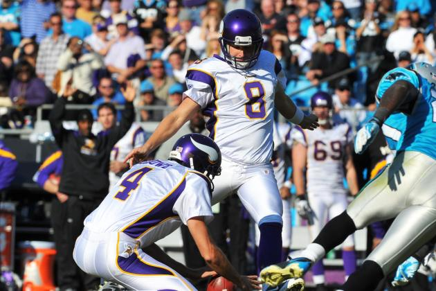 NFL Offseason 2012: Vikings Cut Ryan Longwell; Likely to Start Blair Walsh