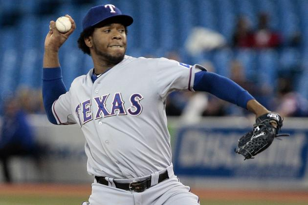 Rangers vs. Orioles: Texas SP Neftali Feliz Has Struggled on the Road