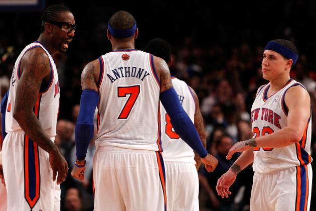 Carmelo Anthony, Knicks Keep Hopes Alive in NBA Playoffs