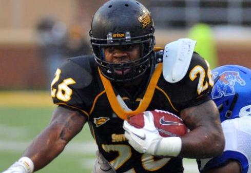 Southern Miss RB Woodyard Arrested for Robbery