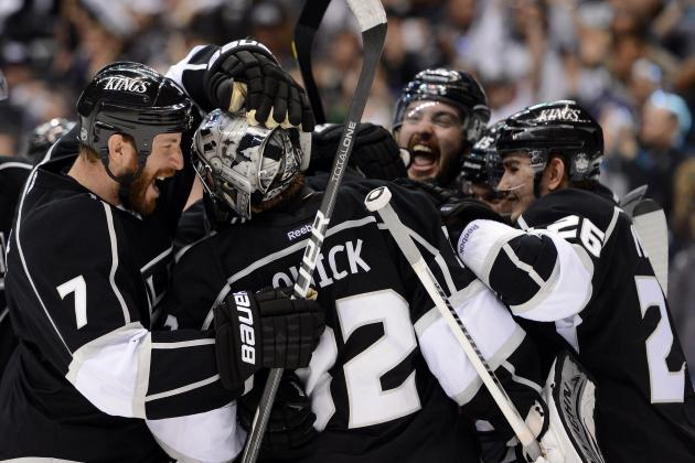 LA Kings: First No. 8 Seed to Knock off No.1 and No. 2 Seed in Same Postseason