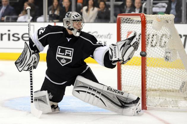 NHL Playoffs 2012: Quick, Smith Will Battle Between the Pipes in Western Final
