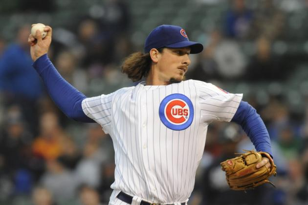 Jeff Samardzija Cruises Past the Atlanta Braves, Chicago Cubs Win 5-1