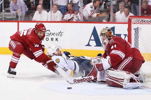 Stanley Cup Playoffs 2012: Phoenix Coyotes Finish off Predators, Await Kings