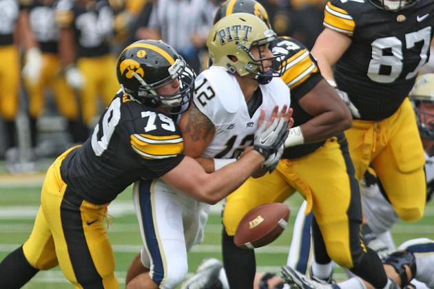 Big Ten Football Top 150 Players: No. 128, Dominic Alvis, DE, Iowa